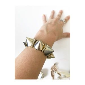 Jewelry - Spike statement bracelet
